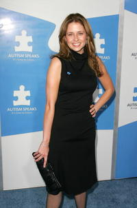 Jenna Fischer at One Night Only: A Concert for Autism Speaks in Los Angeles.