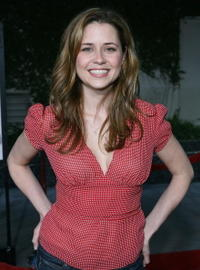 "Jenna Fischer at the premiere of ""American Dreamz"" in Hollywood, California."