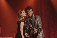 Jenna Fischer and John C. Reilly in