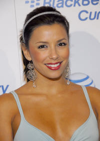 Eva Longoria Parker at the launch party for the new BlackBerry Curve in Los Angeles, California.