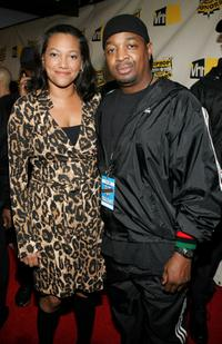 Christina Norman and Chuck D at the VH1 Hip Hop Honors.
