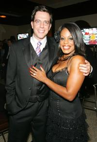 Ed Helms and Niecy Nash at the Comedy Central Emmy after party.