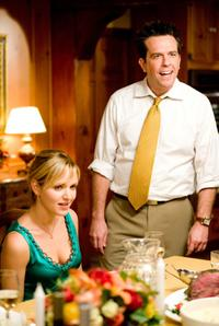 Jordana Spiro as Ivy Selleck and Ed Helms as Paxton Harding in