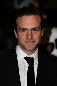 Rafe Spall at the world premiere of