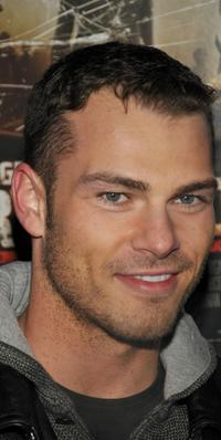 Shawn Roberts at the premiere of