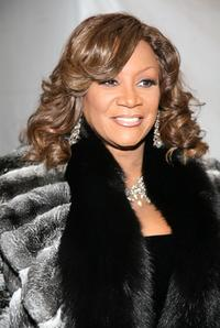 Patti LaBelle at the W VIP lounge during the Mercedes Benz Fashion Week.
