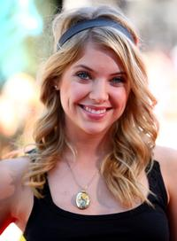 Ashley Benson at the premiere of