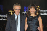 Sophie Marceau and Christopher Lambert at the premiere of