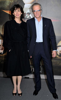 Sophie Marceau and Christopher Lambert at the premiere of the Luc Besson's film