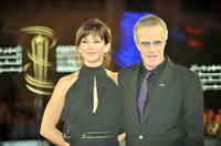 Sophie Marceau and Christopher Lambert at the opening ceremony of the Marrakech 10th International Film Festival.