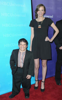 Mark Povinelli and Lauren Lapkus at the NBC Universal 2012 Winter TCA Tour All-Star party in California.