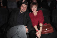 Stipe Erceg and Christiane Paul at the Germany premiere of