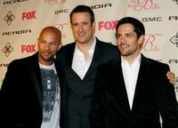 Chris Williams, Benjamin King and Michael Landes at the premiere of