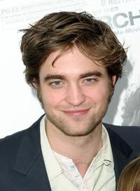 Robert Pattinson at the New York premiere of