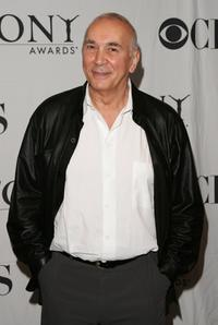 Frank Langella at the 2007 Tony Awards nominees press reception.