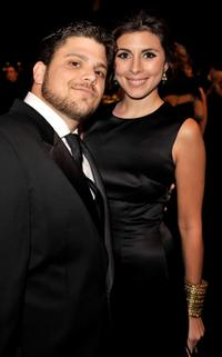 Jerry Ferrara and Jamie-Lynn Sigler at the 15th Annual Screen Actors Guild Awards cocktail party.