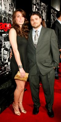 Jerry Ferrara and Guest at the premiere of