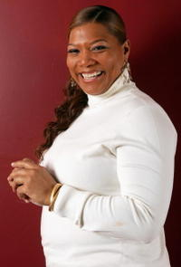 Queen Latifah in a portrait shot for