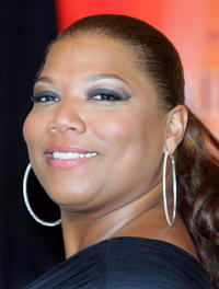 Queen Latifah during a Las Vegas photocall for