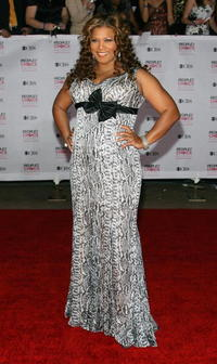 Queen Latifah at the 33rd Annual People's Choice Awards.