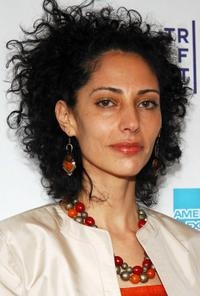 Suheir Hammad at the premiere of