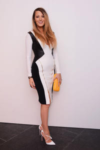 Blake Lively at the Gabriela Cadena fashion show during the Mercedes-Benz fashion week in New York.