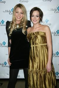 Blake Lively and Leighton Meester at the Help Group's Teddy Bear Ball.