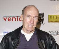 Ed Lauter at the Usual Suspects Theatre Company's holiday party.