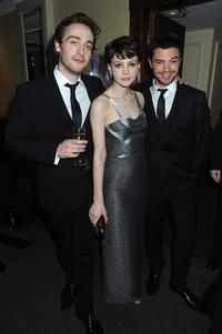 Dominic Cooper, Carey Mulligan and Guest at the Soho House Grey Goose After Party.