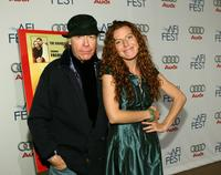 Henry Jaglom and Tanna Frederick at the world premiere of