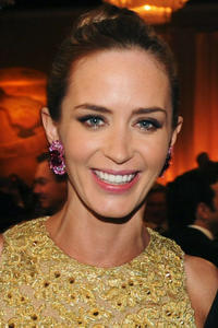 Emily Blunt at the 70th Annual Golden Globe Awards Cocktail Party in Beverly Hills.