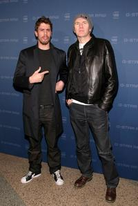Toby Kebbell and Anton Corbijn at the G Star Fall 2009 fashion show during the Mercedes-Benz Fashion Week.