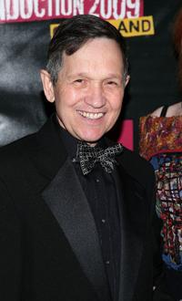 Dennis Kucinich at the 24th Annual Rock and Roll Hall of Fame Induction Ceremony.