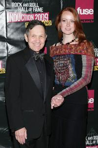 Dennis Kucinich and Elizabeth Kucinich at the 24th Annual Rock and Roll Hall of Fame Induction Ceremony.