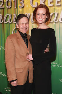 Dennis Kucinich and Elizabeth Kucinich at the 2013 Green Inaugural Ball in Washington, DC.