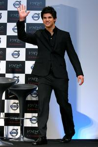 Taylor Lautner at the press conference of