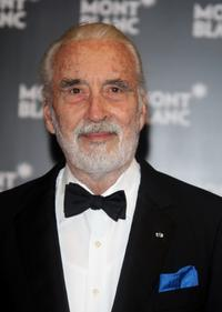 Christopher Lee at the Montblanc VIP Charity Gala.