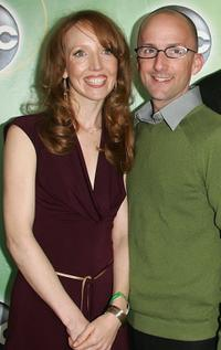 Darlene Hunt and Jim Rash at the ABC Television Network Upfront.