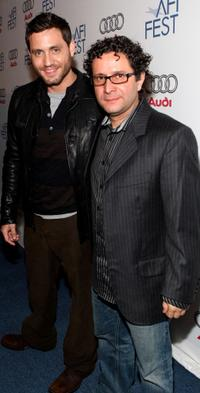 Edgar Ramirez and Alberto Arvelo at the AFI Fest 2007.