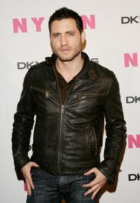 Edgar Ramirez at the Nylon Magazine's