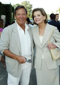 Ron Leibman and Jessica Walter at the cocktail party and script reading for Fox-TV's