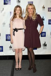 Jennifer Jason Leigh and Jane Krakowski at the 27th Annual New York Women In Film & Television's Muse Awards.