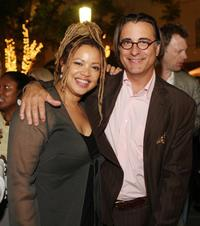 Kasi Lemmons and Andy Garcia at the afterparty of the premiere of