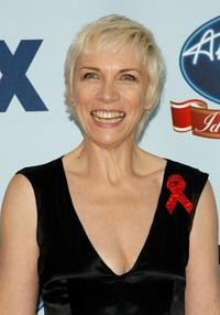 Annie Lennox at the American Idol Gives Back.