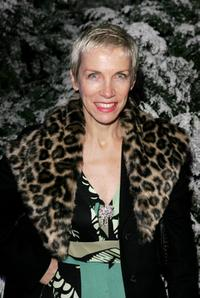 Annie Lennox at the after party of the world premiere of