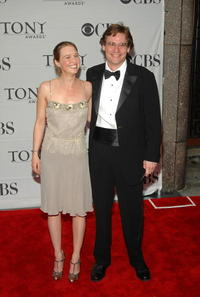 Robert Sean Leonard and Guest at the 61st Annual Tony Awards.