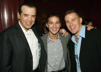 Chazz Palminteri, Shia LeBeouf and Channing Tatum at the after party of the premiere of