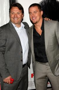 Producer Kevin Misher and Channing Tatum at the premiere of