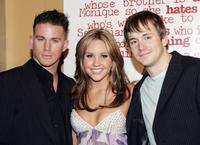 Channing Tatum, Amanda Bynes and Robert Hoffman at the premiere of
