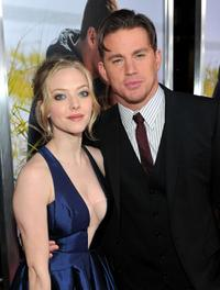 Amanda Seyfried and Channing Tatum at the California premiere of